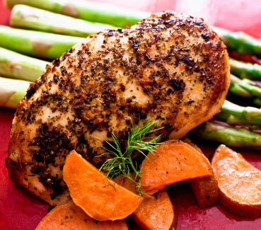 Lean Protein with Complex Carbohydrates
